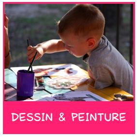activité dessin peinture enfant