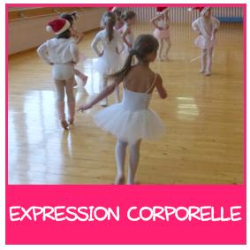 activité danse expression corporelle enfant