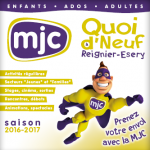 Plaquette MJC Reignier-Esery