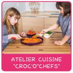 Atelier cuisine croc'o'chefs chef
